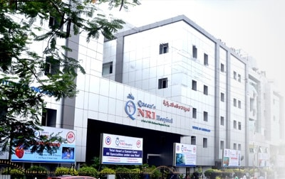 route map for NRI Hospital, Multispecialty Hospital in Vizag